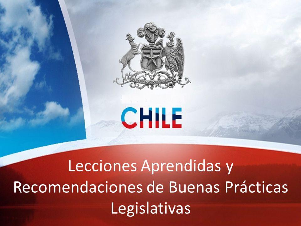 PLAN CHILE SEGURO Presentación Diputado Giovanni Calderón Lecciones Aprendidas y Recomendaciones de Buenas Prácticas Legislativas