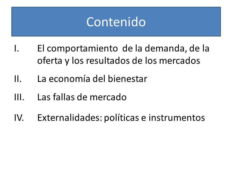 El por qué del contenido ¿Por qué microeconomía.