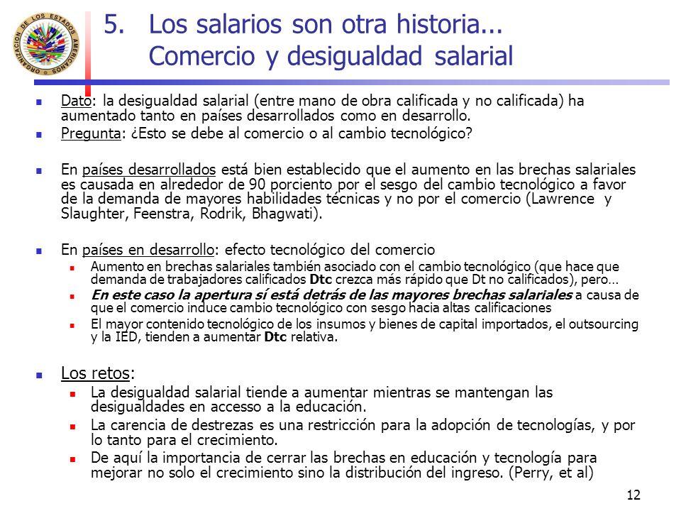 12 5.Los salarios son otra historia...