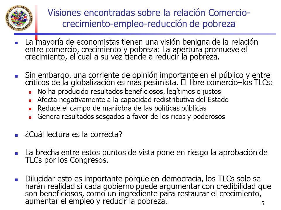 16 ¿Qué factores explican los resultados sociales insatisfactorios de las reformas económicas.