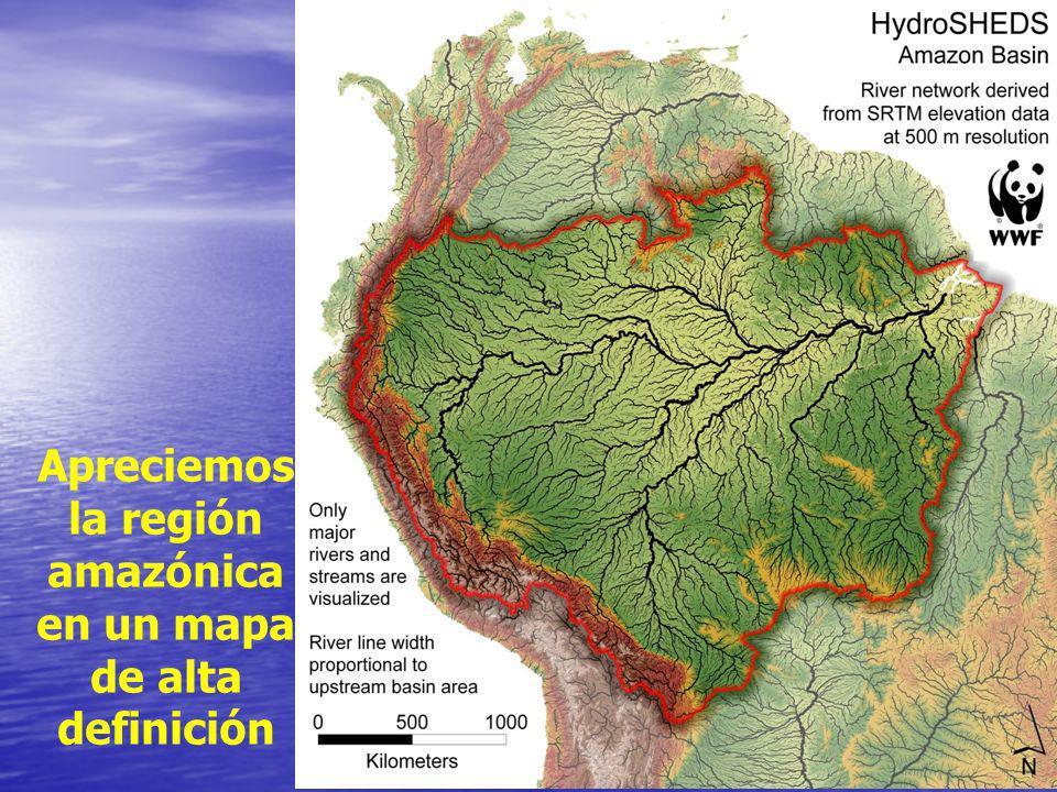 8 Apreciemos la región amazónica en un mapa de alta definición