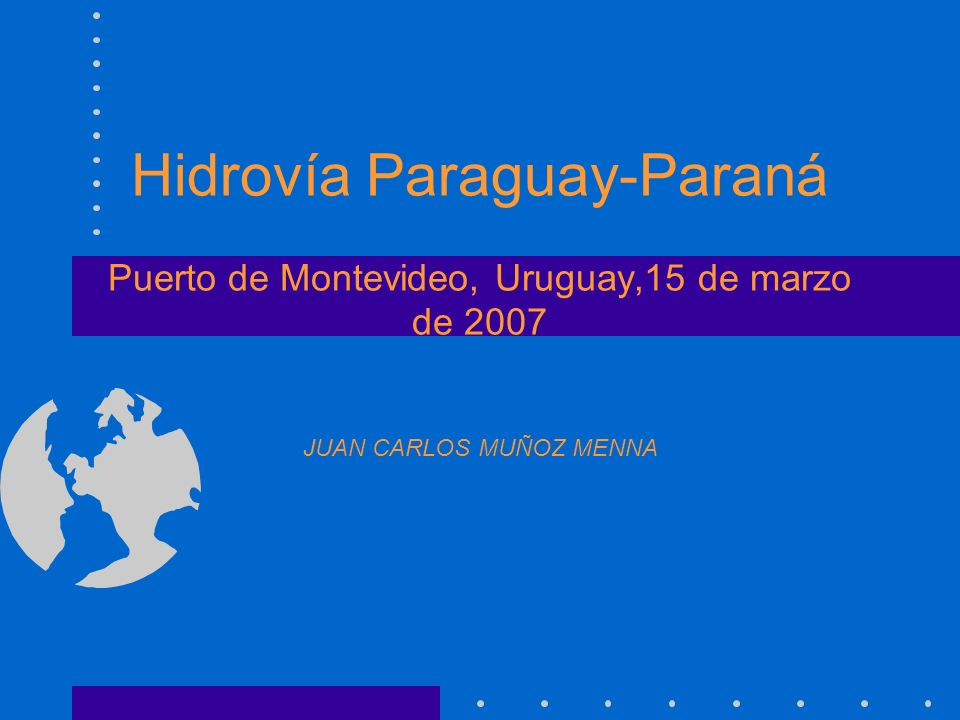 Acuerdo de Transporte Fluvial Los Plenipotenciarios de la República Argentina, de la República de Bolivia, de la República Federativa del Brasil, de la República del Paraguay y de la República Oriental del Uruguay; suscribieron en el Valle de las Leñas, Provincia de Mendoza, República Argentina, el 26 de junio de 1992, el Acuerdo de Transporte Fluvial por la Hidrovía Paraguay-Paraná.