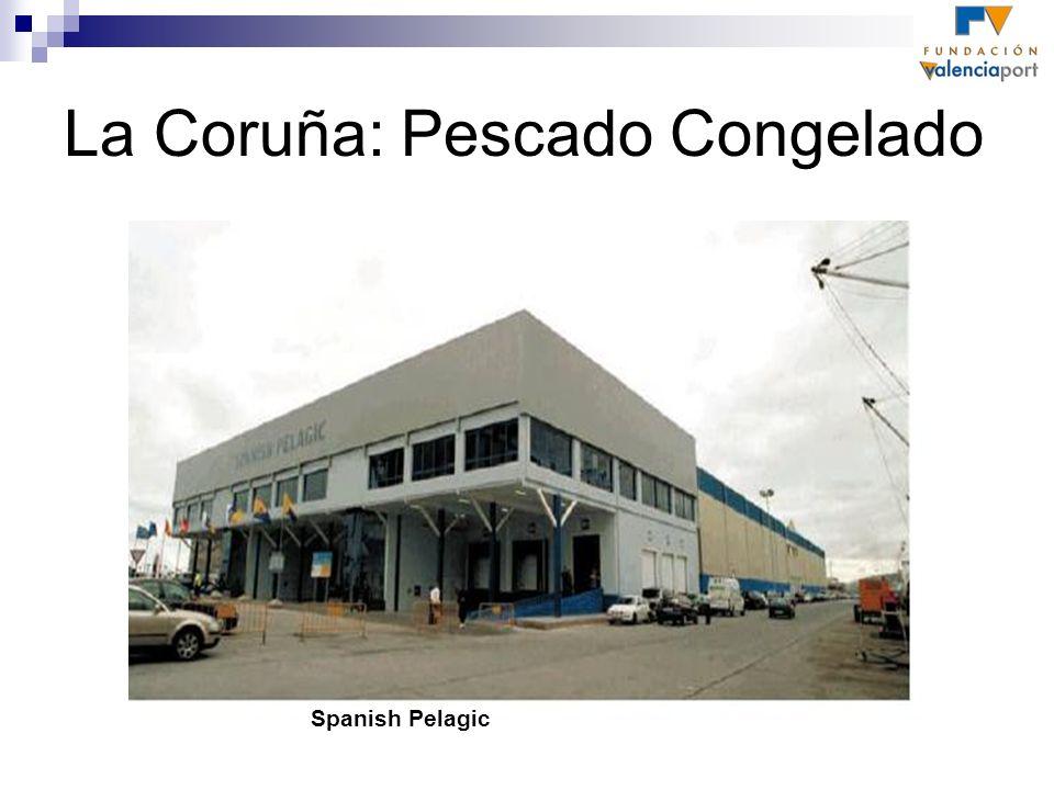 La Coruña: Pescado Congelado Spanish Pelagic