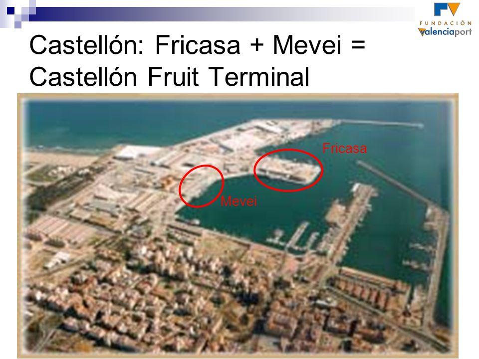 Castellón: Fricasa + Mevei = Castellón Fruit Terminal Fricasa Mevei
