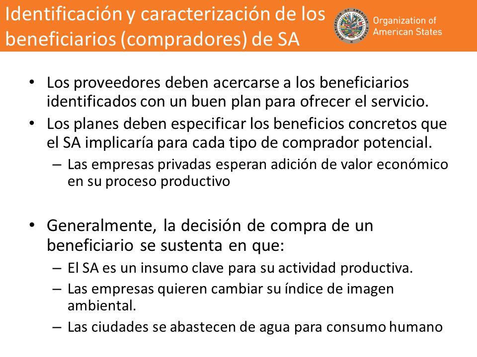 Los proveedores deben acercarse a los beneficiarios identificados con un buen plan para ofrecer el servicio. Los planes deben especificar los benefici
