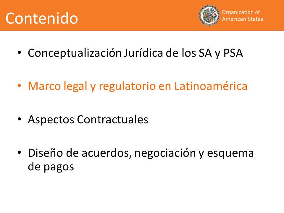 Los Gobiernos están creando las condiciones legales adecuadas para la adopción de PSA.