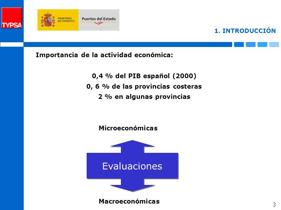 2 1. JUSTIFICACIÓN SERVICIOS PORTUARIOS Importantes recursos públicos dedicados Inversiones inicialesAmpliacionesMantenimiento Evaluación de las actua