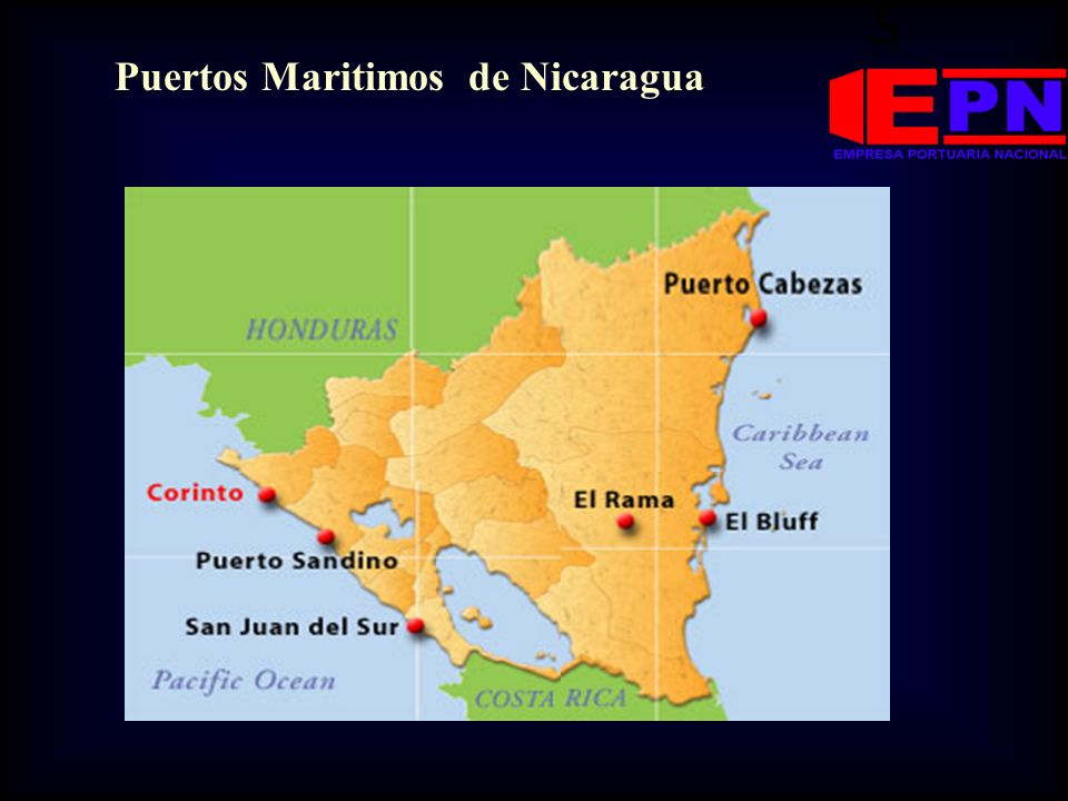 Puertos Maritimos de Nicaragua