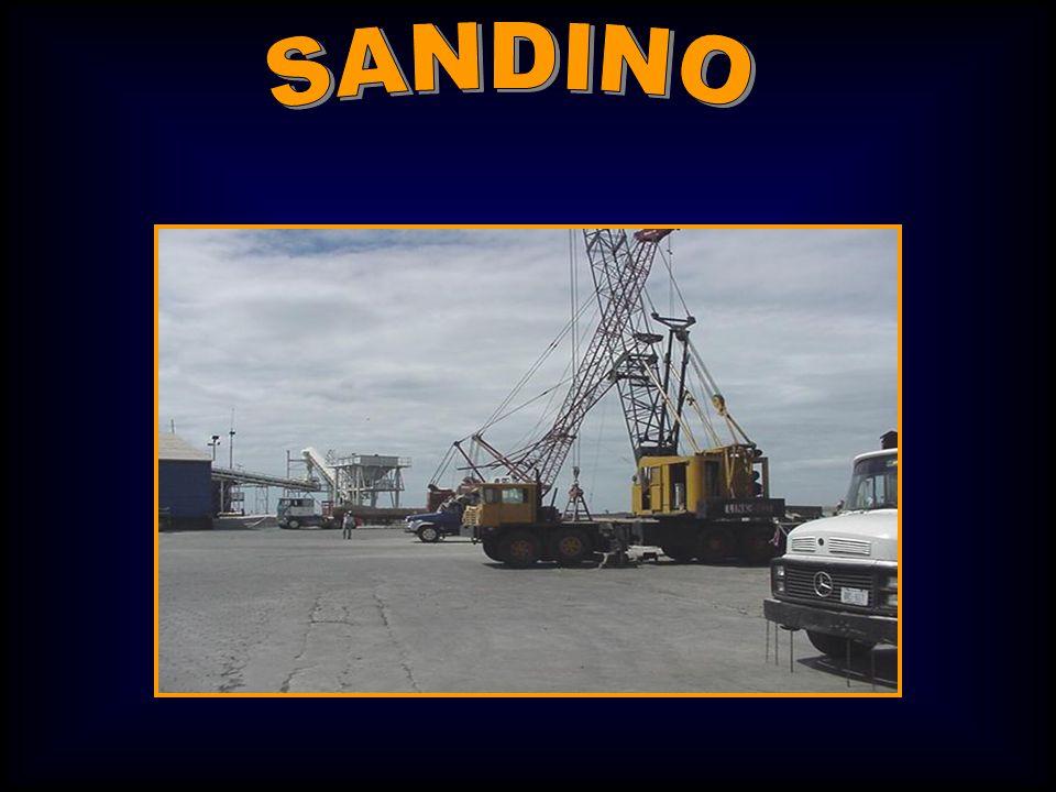 Para el manejo y las operaciones de carga de cabotaje hay varios puertos pequeños alrededor del lago.