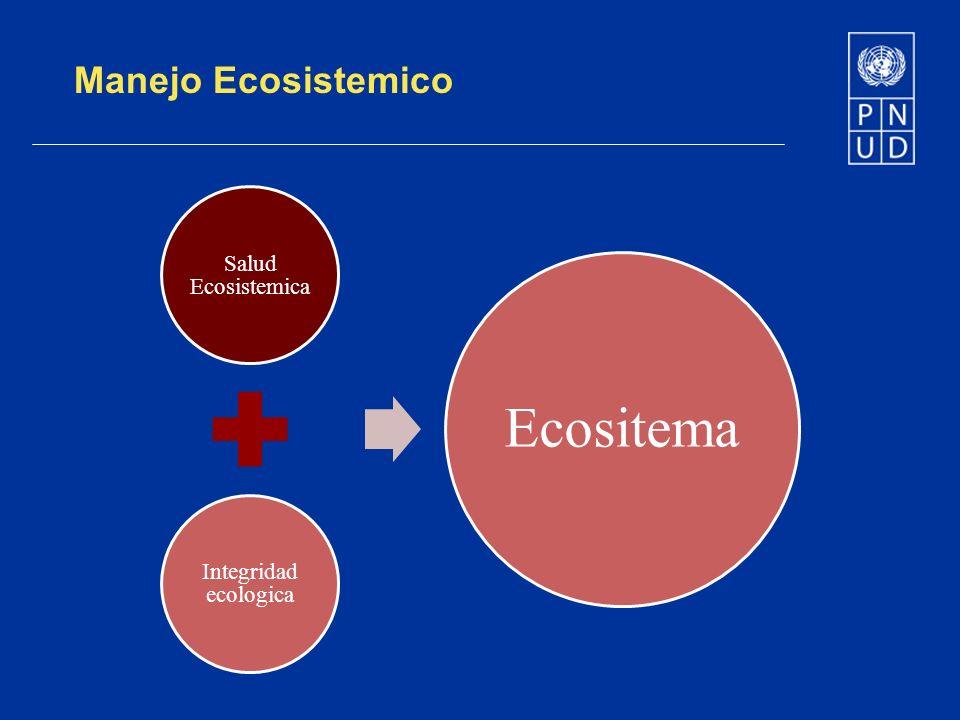 Manejo Ecosistemico Salud Ecosistemica Integridad ecologica Ecositema