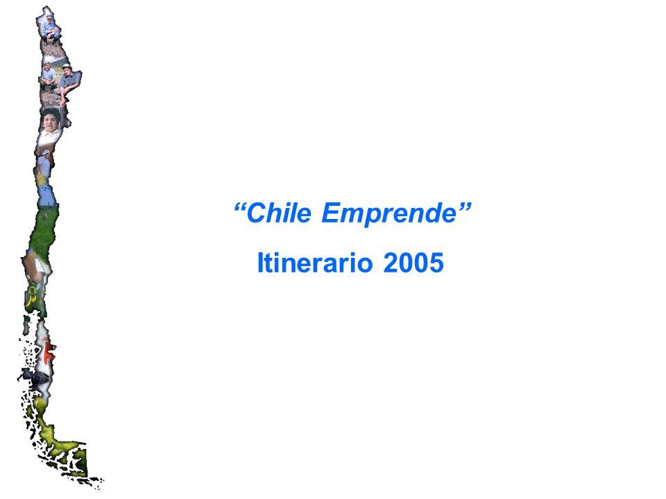 Chile Emprende Itinerario 2005