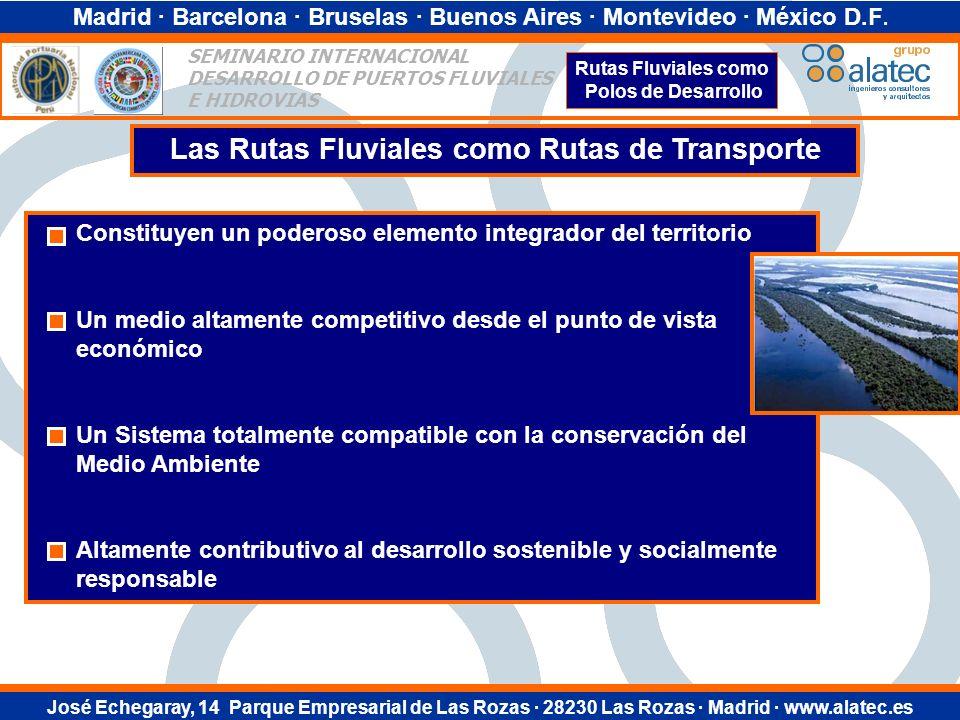 Madrid · Barcelona · Bruselas · Buenos Aires · Montevideo · México D.F.