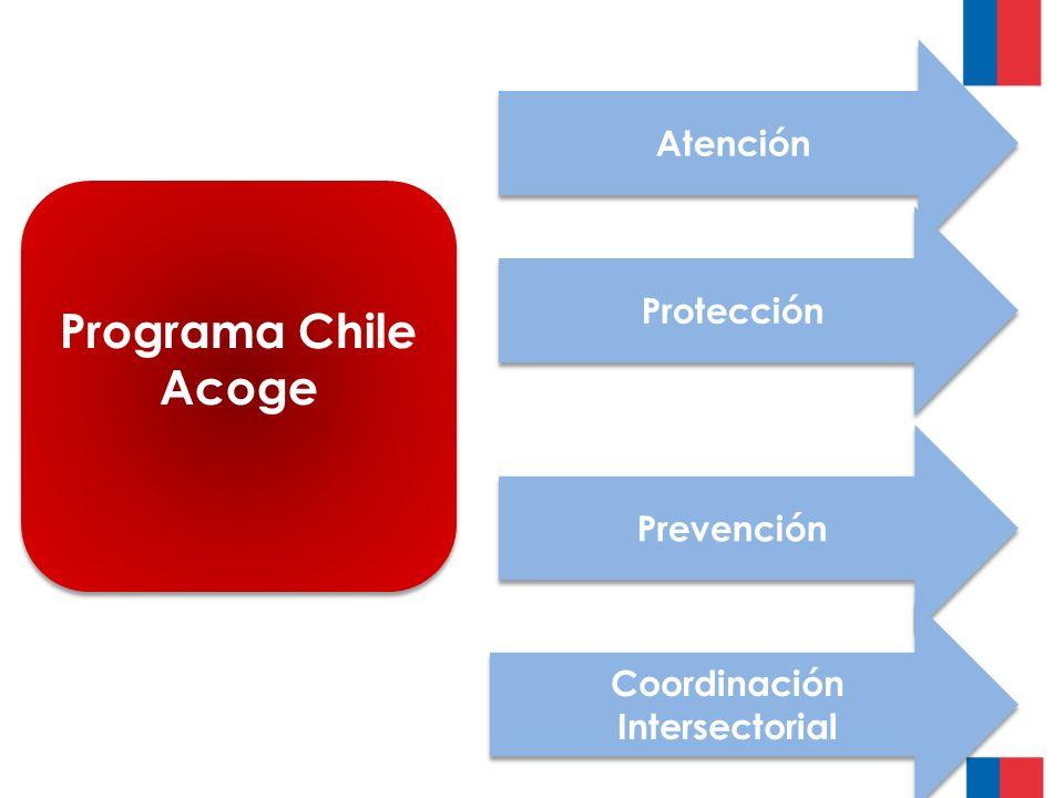 Programa Chile Acoge Prevención Atención Protección Coordinación Intersectorial