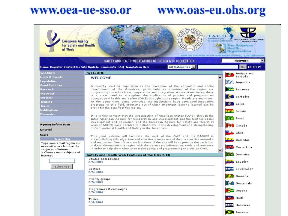 www.oea-ue-sso.or www.oas-eu.ohs.org