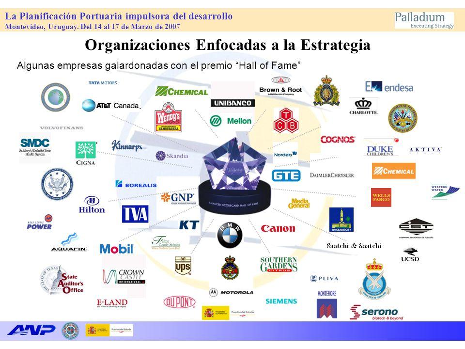 La Planificación Portuaria impulsora del desarrollo Montevideo, Uruguay. Del 14 al 17 de Marzo de 2007 Algunas empresas galardonadas con el premio Hal