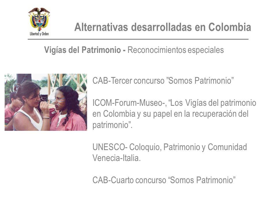 CAB-Tercer concurso Somos Patrimonio ICOM-Forum-Museo-, Los Vigías del patrimonio en Colombia y su papel en la recuperación del patrimonio.