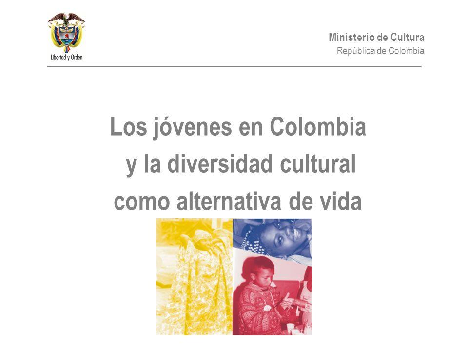 Los jóvenes en Colombia y la diversidad cultural como alternativa de vida
