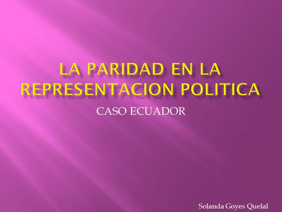 CASO ECUADOR Solanda Goyes Quelal