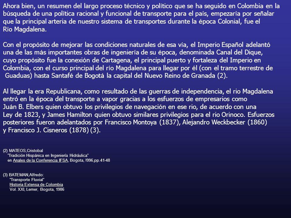 Ahora bien, un resumen del largo proceso t é cnico y pol í tico que se ha seguido en Colombia en la b ú squeda de una pol í tica racional y funcional