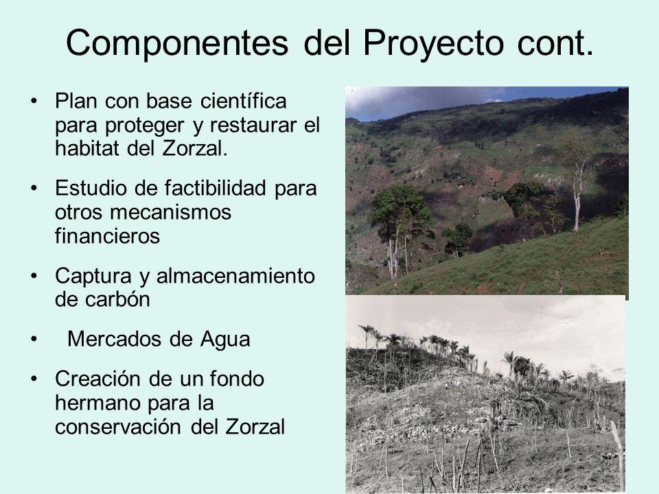 Componentes del Proyecto cont.