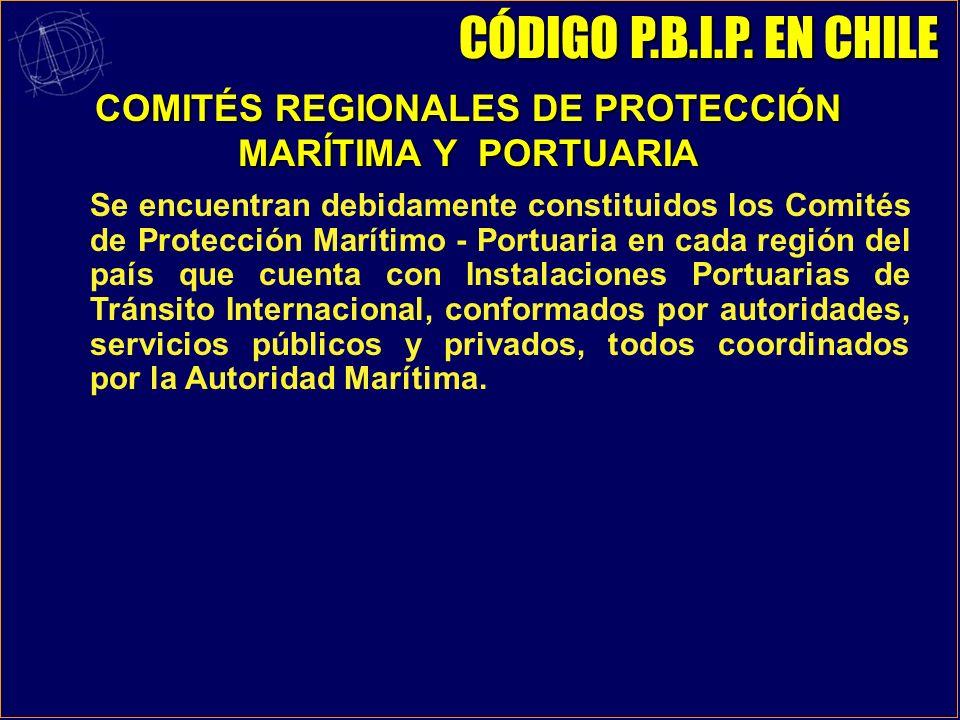 c)Unidades Móviles de Perforación Mar Adentro: CASO NACIONAL - No Hay. II. INSTALACIONES PORTUARIAS QUE PRESTEN SERVICIO A BUQUES DEDICADOS A VIAJES I