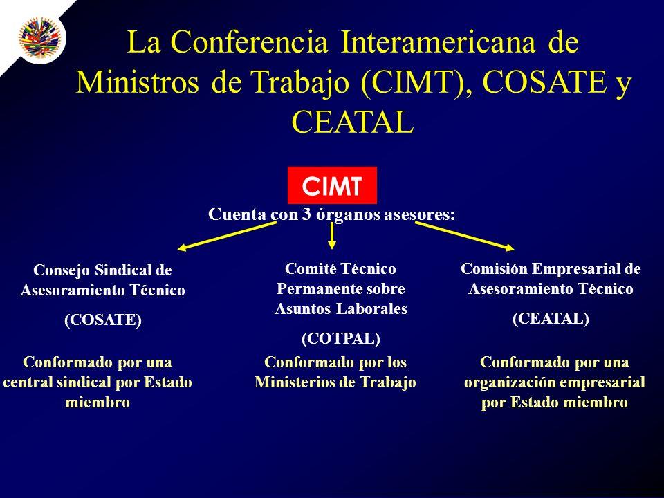 Taller sobre Innovación y Trabajo Decente para COSATE y CEATAL Oportunidad privilegiada para los miembros de COSATE y CEATAL de contribuir a los debates hacia la IV Cumbre.