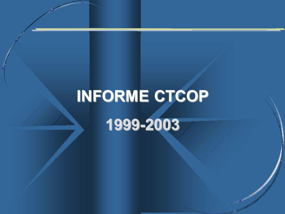 INFORME CTCOP 1999-2003