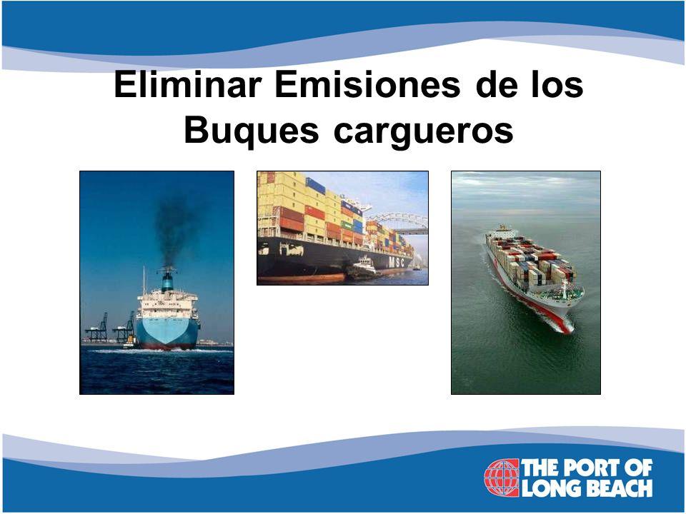 Eliminar Emisiones de los Buques cargueros