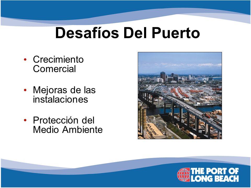 Crecimiento Comercial Mejoras de las instalaciones Protección del Medio Ambiente Desafíos Del Puerto