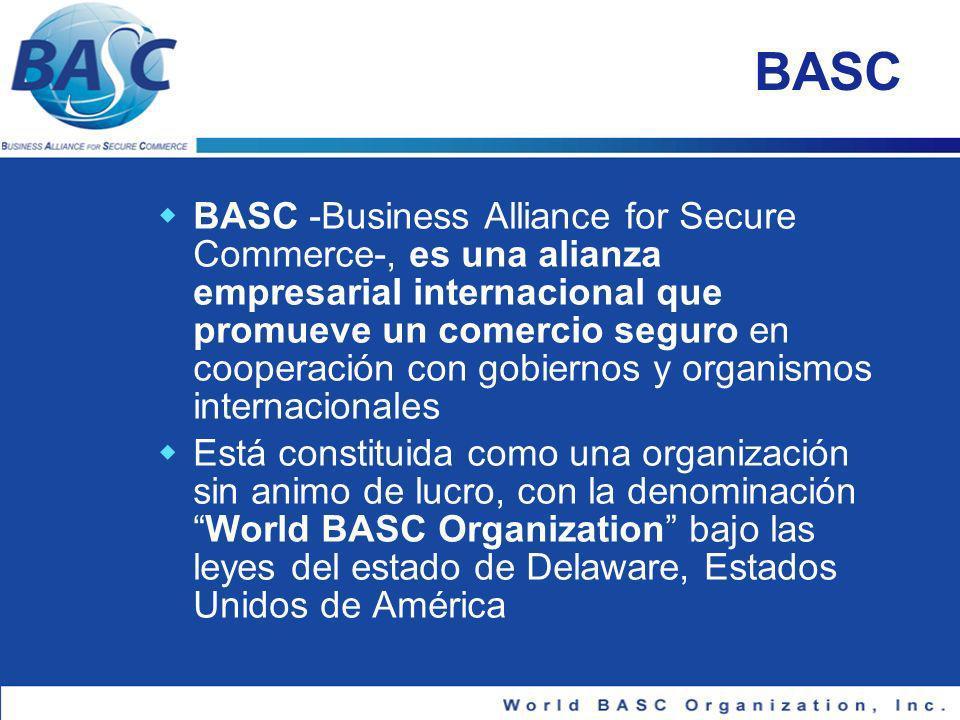 Plan de Certificación C-TPAT para empresas BASC 1.Empresa BASC Certificada: identifica su importador CTPAT en EEUU e informa a Capitulo BASC Regional / Nacional.