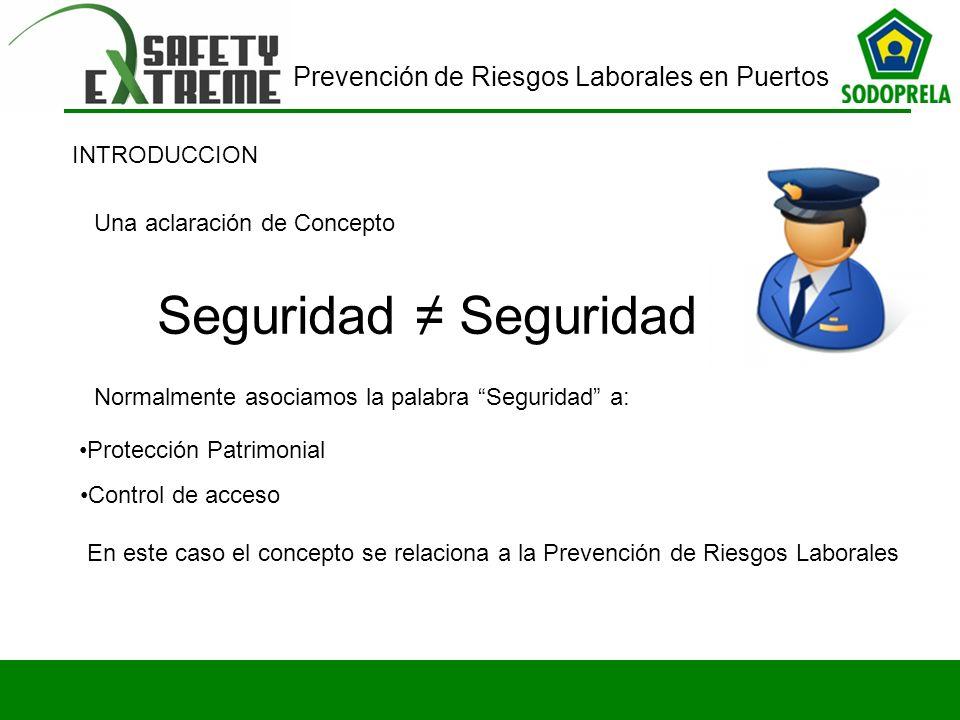 Prevención de Riesgos Laborales en Puertos