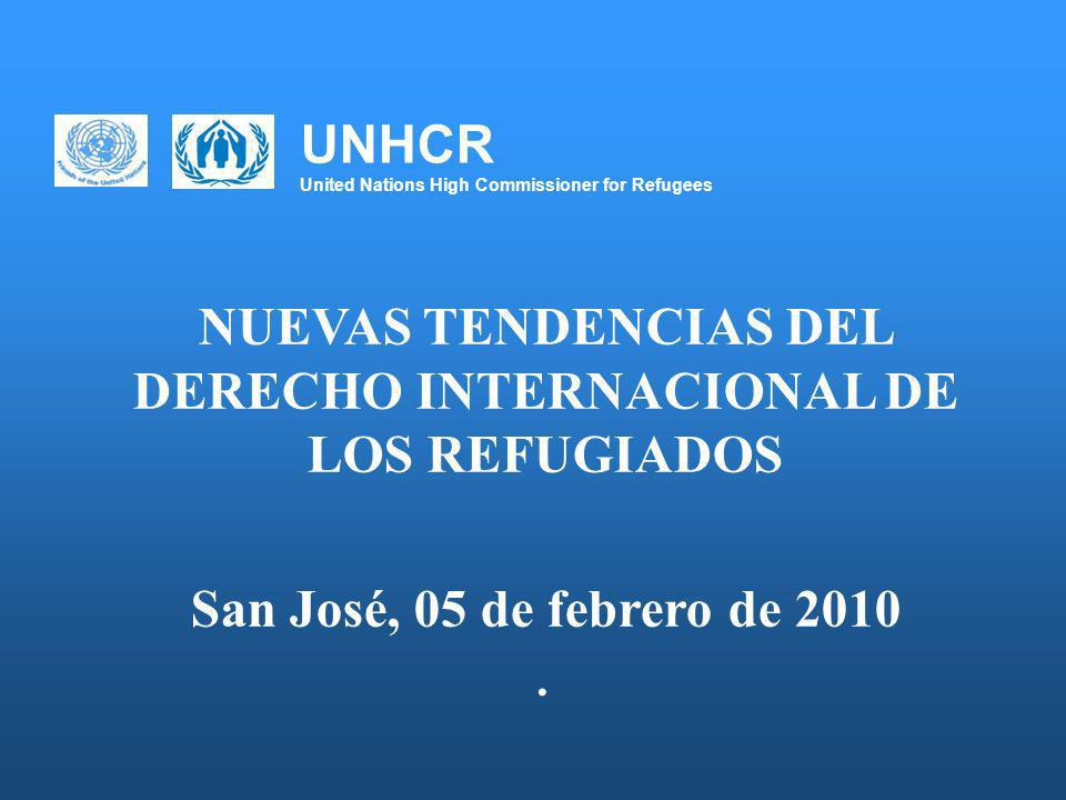 UNHCR United Nations High Commissioner for Refugees 1.Panorama regional ¿Dónde estamos.