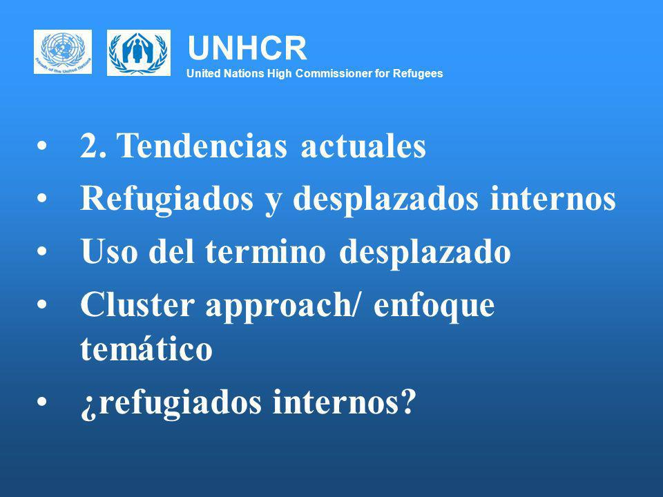 UNHCR United Nations High Commissioner for Refugees 2.