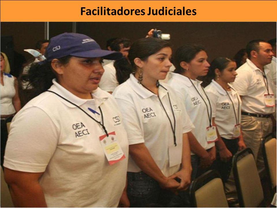 Son líderes comunitarios voluntarios