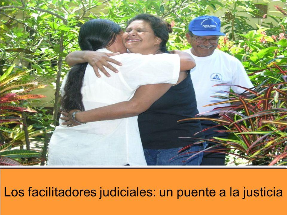 Los facilitadores judiciales: un puente a la justicia