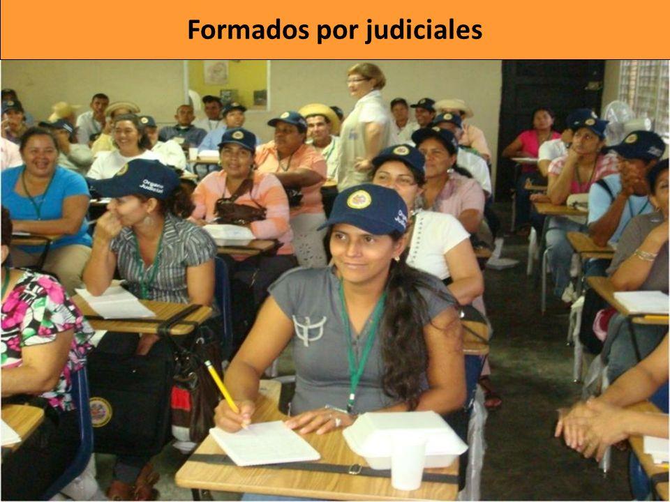 Formados por judiciales