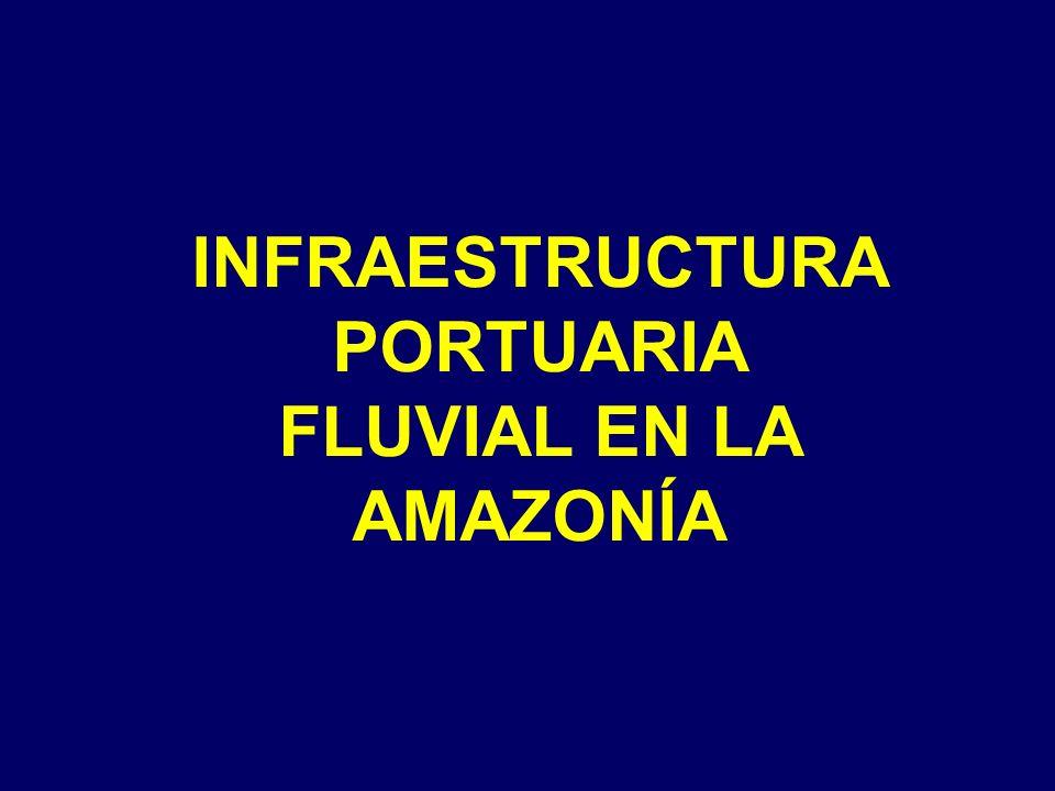 INFRAESTRUCTURA PORTUARIA FLUVIAL EN LA AMAZONÍA