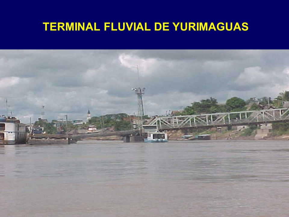 TERMINAL FLUVIAL DE YURIMAGUAS