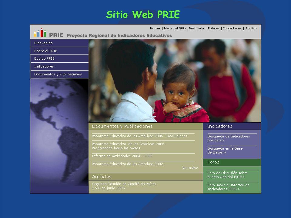 Sitio Web PRIE