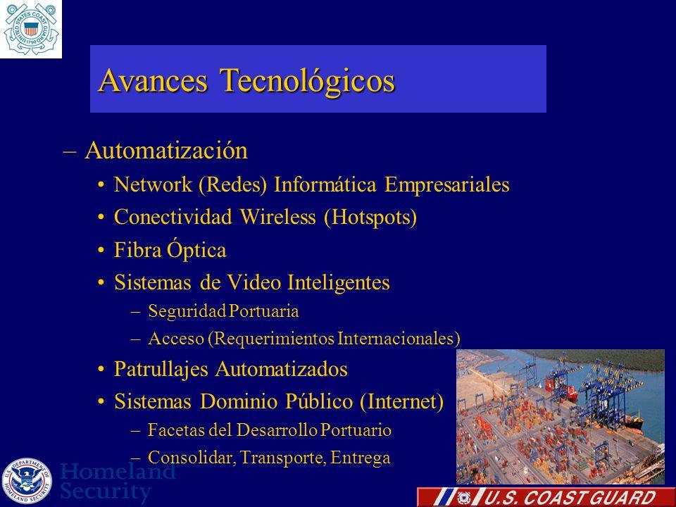–Automatización Network (Redes) Informática Empresariales Conectividad Wireless (Hotspots) Fibra Óptica Sistemas de Video Inteligentes –Seguridad Port