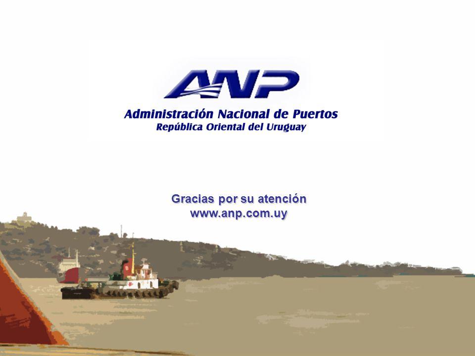 Gracias por su atención www.anp.com.uy