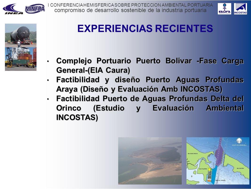 compromiso de desarrollo sostenible de la industria portuaria I CONFERENCIA HEMISFERICA SOBRE PROTECCION AMBIENTAL PORTUARIA EXPERIENCIAS RECIENTES Co
