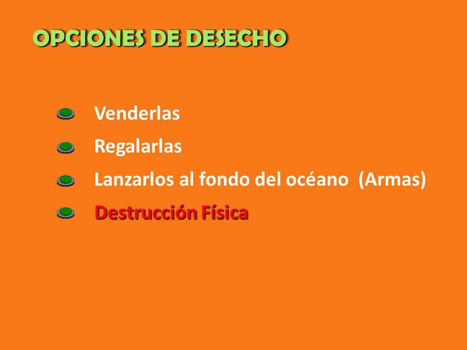 MÉTODOS DE DESTRUCCIÓN MÉTODOS DE DESTRUCCIÓN Quema.