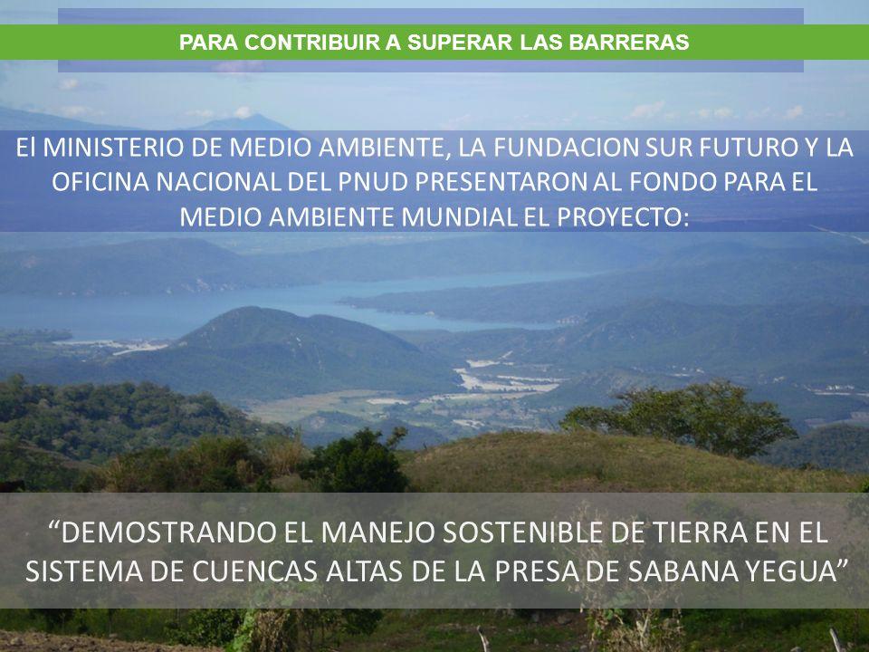 Area de influencia 1,668.59 Km 2 Presa de Sabana Yegua 354 millones m 3 AREA DE INFLUENCIA DEL PROYECTO