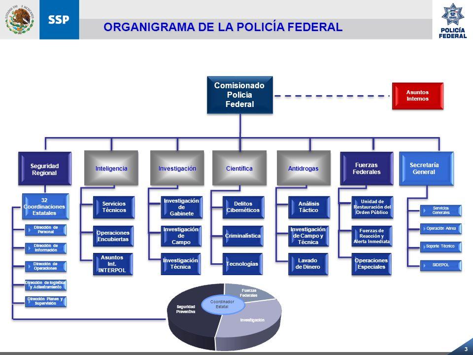 14 ESTACIONES DE POLICÍA.