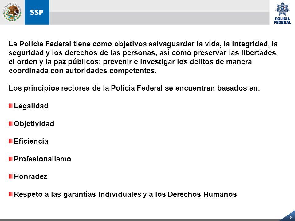 16 ESTADO DE FUERZA INCLUYE: 7,054 ELEMENTOS CON PERFIL DE INVESTIGADOR.