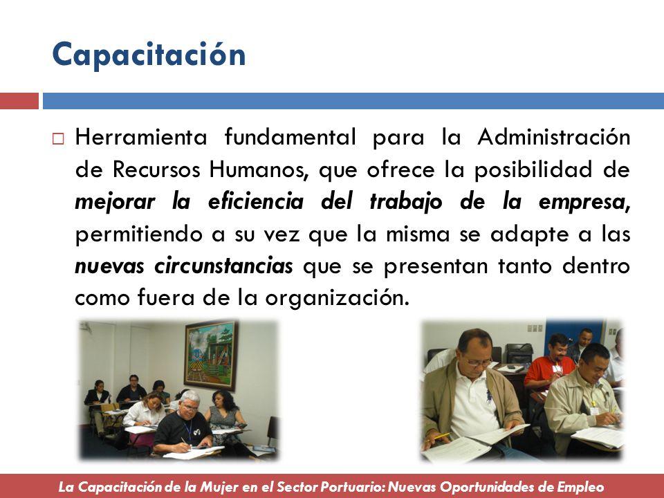 Capacitación Herramienta fundamental para la Administración de Recursos Humanos, que ofrece la posibilidad de mejorar la eficiencia del trabajo de la