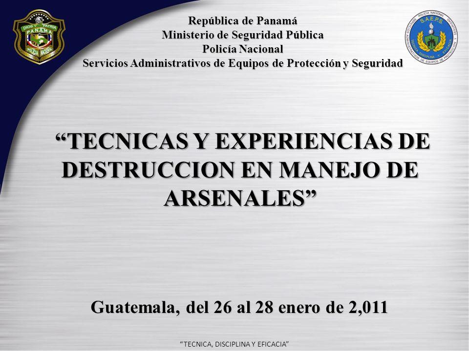 - República de Panamá Ministerio de Seguridad Pública Policía Nacional Servicios Administrativos de Equipos de Protección y Seguridad AGENDA I.CONSIDERACIONES PREVIAS II.QUE SON LOS SERVICIOS ADMINISTRATIVOS DE EQUIPOS DE PROTECCIÓN Y SEGURIDAD.