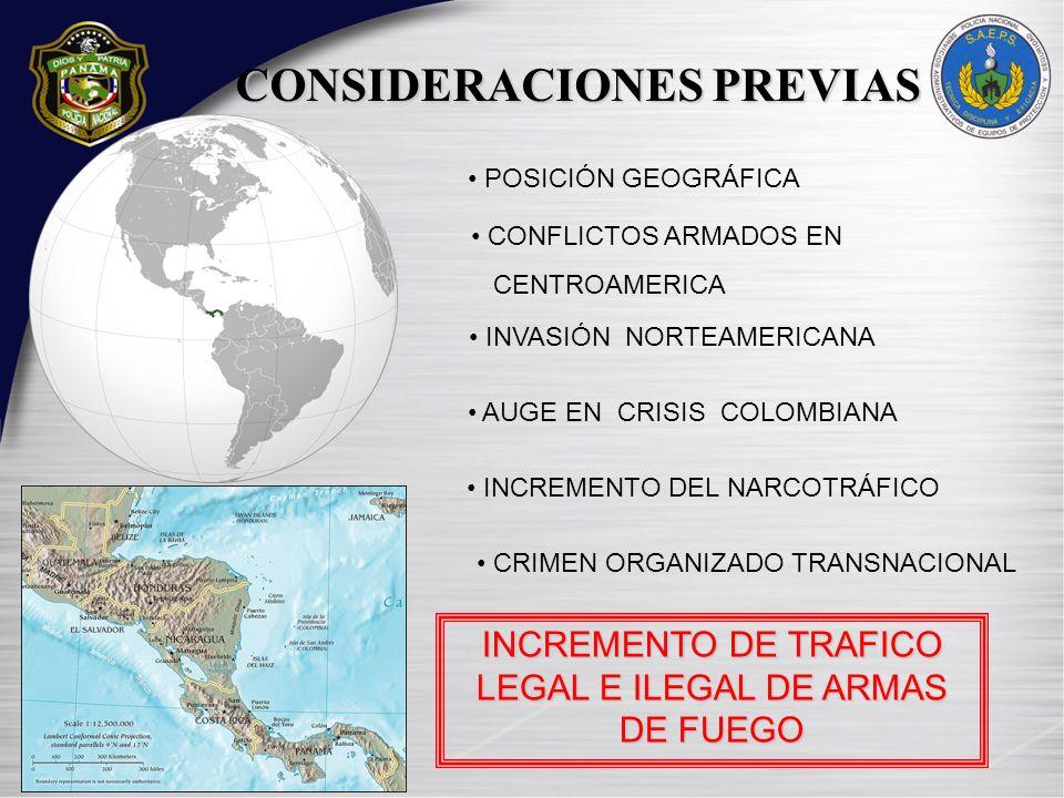 GRÁFICA COMPARATIVA DE ARMAS DE FUEGO DESTRUIDAS, DURANTE LOS AÑOS: 2005, 2007, 2008 Y 2010 2005200720082010TOTAL CANTIDAD2191455598622359967 2008 2005 2007 2010 FUENTE: Sección de Armas Decomisadas (ARDEC) de los Servicios Administrativos de Equipos de Protección y Seguridad de la Policía Nacional.