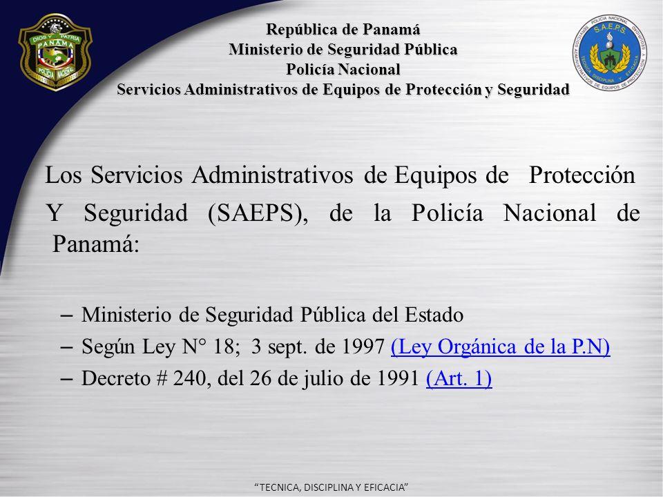 - TECNICA, DISCIPLINA Y EFICACIA CAPITULO II ESTRUCTURA DE LINEA FUNCIONAL SECCION V Art.